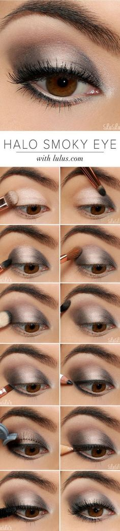 Smokey Eye Makeup Ideas 435 – Tuku OKE