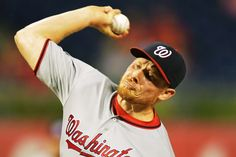 Melancon brings the heat:     Mark Melancon #43 of the Washington Nationals delivers a pitch in the ninth inning against the Philadelphia Phillies at Citizens Bank Park on Aug. 29, in Philadelphia, Penn. The Nationals won 4-0.