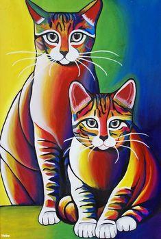 by Helen Felicia, Acrylics on canvas