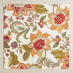 Kavita Floral Napkins, Set of 4 | World Market