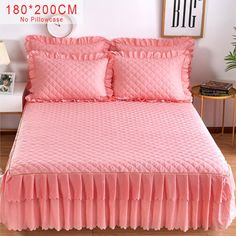 Pink Purple Grey Solid Cotton Single Double Bed Skirt Mattress Cover Petticoat Twin Full Queen Bed Skirts Bedspread bedding sets-in Bed Skirt from Home & Garden on Aliexpress.com | Alibaba Group Bed Sets, Mattress Covers, Bed Covers, Fold Bed Sheets, Cheap Sheets, Designer Bed Sheets, Bathroom Towel Decor, Home Garden Design, Double Beds
