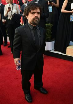Actor Peter Dinklage arrives for the 23rd Annual Screen Actors Guild Awards at the Shrine Exposition Center on January 29 in Los Angeles California /...