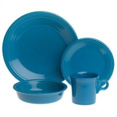 Fiesta® Peacock 4 Piece Place Setting