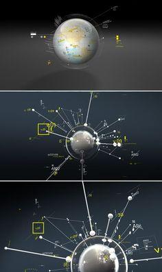 Classified LUMBRE #concept #navigation / Webdesign - Homedeck teleporter inspiration: