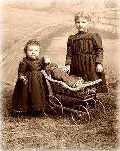 Antique girls.