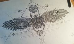 Scarab tattoo design by LarsLunsing.deviantart.com on @DeviantArt