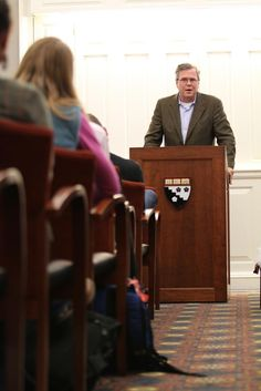 Jeb Bush, Former Governor of Florida, Discusses Educational Reform in Eliot Lyman