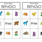 FREE! This bingo game is great for your Brown Bear Unit.  A fun way for your students to practice their colors.  I always end my Brown Bear unit by playi...