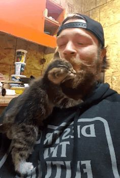 "A man found three tiny kittens in a couple of skunk traps. The little ones were terrified and wanted nothing to do with him, but the man was determined to help them find a new lease on life. imgur/tysonoffEarlier in the spring imgur user tysonoff spotted several skunks around their acreage. ""Fol..."