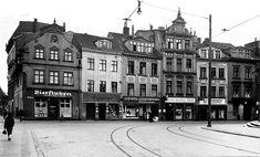 Königsberg Pr.    Blick von der Köttelbrücke in die Börsenstraße