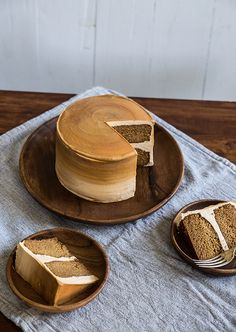 Dulce de Leche cake, from Pastry Affair . . .