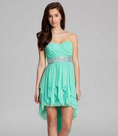 Sequin Hearts Daisy Lace to Mesh 2Piece Dress #Dillards ...