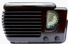 EXTREME ART DECO 1940 Pre War FARNSWORTH Bakelite Tube Radio TRUE CLASSIC GEM