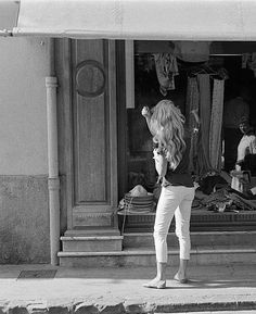 Miss Brigitte Bardot, St Tropez, 1958