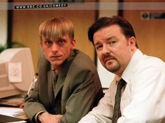 Desktop Wallpaper of David Brent, Tim, Dawn, Gareth and other characters in The Office. The official website for The Office; part of the BBCi Comedy web site. Office Uk, Office Tv Show, Worst Names, Office Pictures, Ricky Gervais, That's What She Said, Favorite Tv Shows, Movie Tv, Comedy