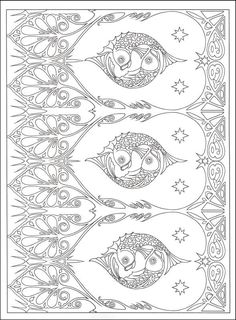 This is a beautiful Art Nuveau design.  Rainbow Resource Center, Inc. http://www.rainbowresource.com/product/Art+Nouveau+Patterns+Coloring+Book/044073