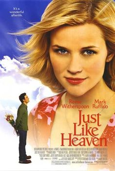 Just Like Heaven is an American romantic comedy fantasy film released on September in the United States and Canada. Set in San Francisco, it was directed by Mark Waters, starring Reese Witherspoon, Mark Ruffalo, and Jon Heder. Mark Ruffalo, Dirty Dancing, See Movie, Film Movie, Comedy Film, Reese Witherspoon Movies, Resse Witherspoon, Heaven Movie, Emission Tv