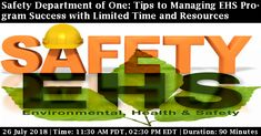 Health And Safety, Environment, Join, Success, Tips, Counseling