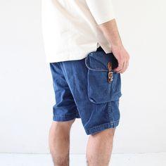 thuyanbui:  orSlow Backpack Shorts