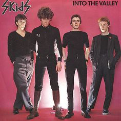 The Skids - Into The Valley / TV Stars. One of my fave ever singles from a classic band. Still love you Stuart Adamson by the way, much missed :( New Wave Music, The New Wave, Rock & Pop, Rock And Roll, Stuart Adamson, 70s Punk, Rare Vinyl Records, Big Country, My Favorite Music