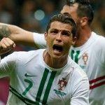 Cristiano Ronaldo Celebration styles EURO 2012