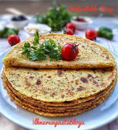 Lezzetli Sunumlar: BÖREK TADINDA KAHVALTILIK KREP Turkish Recipes, Ethnic Recipes, Pizza Pastry, Breakfast Items, Hummus, Brunch, Desserts, Food, Android