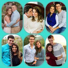 The Bates couples Tori Bates, Kelly Bates, Whitney Bates, Bates Family Blog, Family Tv, Tlc Tv, Carlin Bates, Rory And Logan, Home