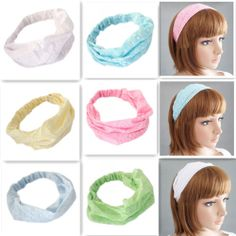 Fashion New Women's  Multi-fonction Elastic Bandanas Headband Head Scarf 6 colors Free Shipping 1pcs/lot 93,41 руб.