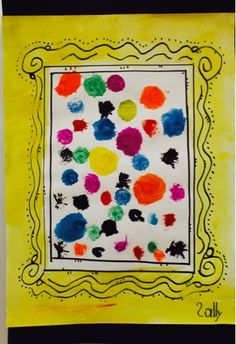International Dot Day, September 15-Kim & Karen: 2 Soul Sisters (Art Education Blog): Dots like Vashti Did
