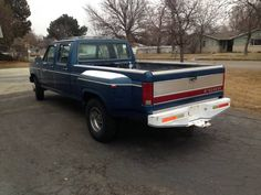 86 Ford F350 Dually