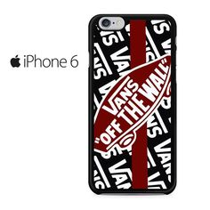 624b725ddf Vans Off The Wall Skate Shoes Iphone 6 Iphone 6S Case