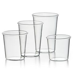 Drinking glasses (min. order is 4), €12