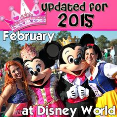 Everything you need to know about Disney World in February - Crowd calendars, available discounts, refurbishment schedule & more!