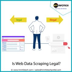 As web scraping is becoming more and more popular I think we need to get things straight. After a little research on the internet and considering the questions I often get asked, I've found that these six misconceptions are the most common about web scraping. If you are totally new to web scraping or you consider leveraging it the followings should be helpful for you. #DataMining #BusinessGrowth #Startup #Marketing #SocialMedia #USA #France