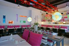 Restaurant, Hôtel Bel Ami, Maidenberg Architecture