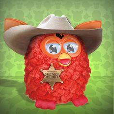 Cowboy Furby! #FurbyHalloween #Costume