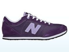 Purple New Balance! probably comfy and not too ugly
