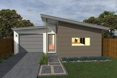 Costa Home Designs  Sunshine Coast Home Builders  BIANCO166  Urban Facade