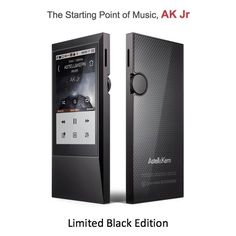 #AstellnKern #AKJr #DAP #MQS #HiResAudio #Limited #Black