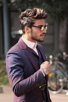 Men Style Hairstyle, Male, Fashion,
