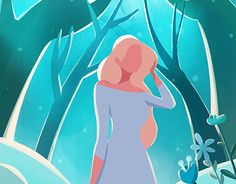 """Check out new work on my @Behance portfolio: """"Forest"""" http://be.net/gallery/51490951/Forest"""