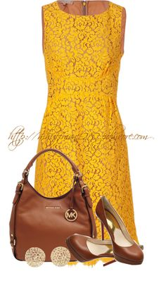 """Michael Kors II"" by mhuffman1282 ❤ liked on Polyvore"