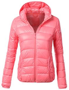 J.TOMSON Womens Down Zip-Up Puffy Jacket With Hood CORAL LARGE J.TOMSON http://www.amazon.com/dp/B00NYB5X2W/ref=cm_sw_r_pi_dp_q1kGub0KV43PN