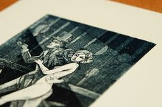 The Master and Margarita   etching on Behance