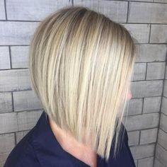 Image result for blunt blonde bob for fine hair