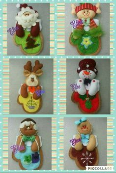 Patchwork navidad country new ideas Diy Christmas Ornaments, Felt Christmas, Felt Ornaments, Felt Crafts, Christmas Crafts, Merry Christmas, Christmas Decorations, Holiday Decor, Projects To Try