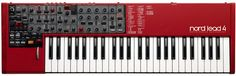 Today we got a surprise out of Sweden. The people at Nord Keyboard (Clavia) came with a new synthesizer, the Nord Lead 4.