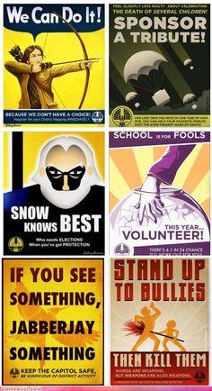 Panem Posters cool cute posters