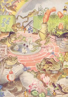 Illustration by Hilda Boswell, from Enid Blyton's Water-Lily Story Book.