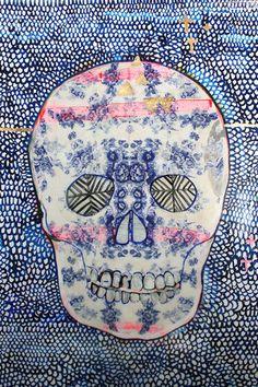 Jai Vasicek  Tea China Skull